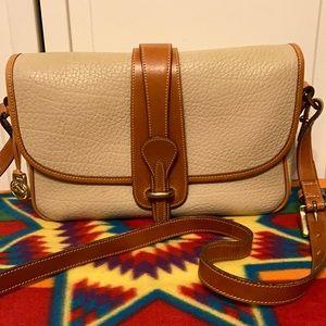 Vintage Dooney & Bourke Beige Crossbody- Handbag